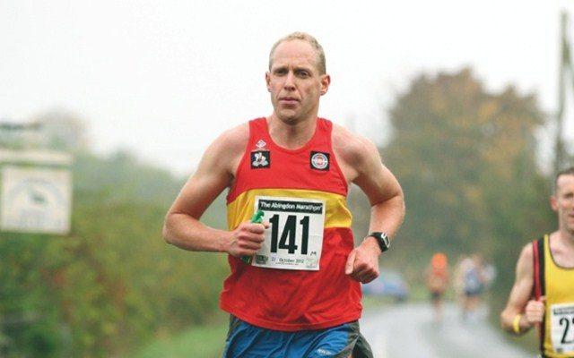 Martyn Brunt running
