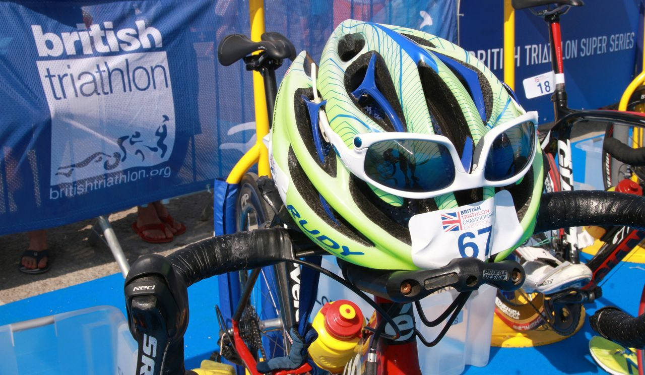 Helmets in transition at Tri Liverpool