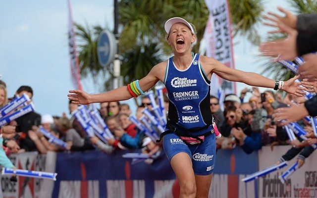 Lucy Gossage wins Ironman Wales 2013