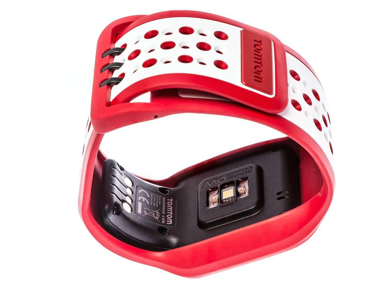 Mio optical heart-rate sensor on TomTom Runner Cardio