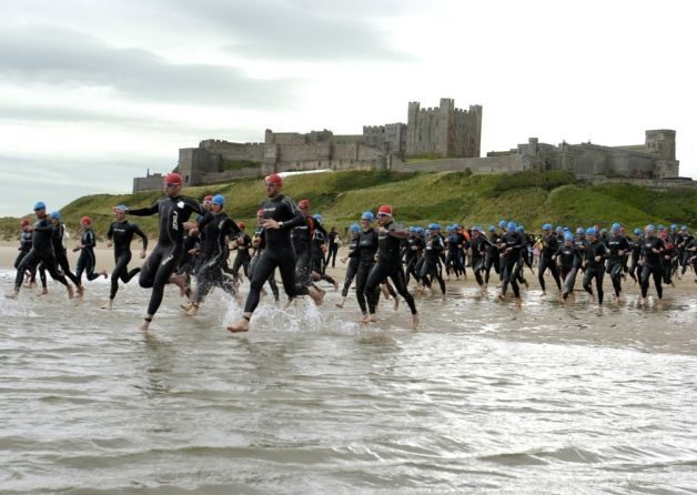 Castle Triathlon swim