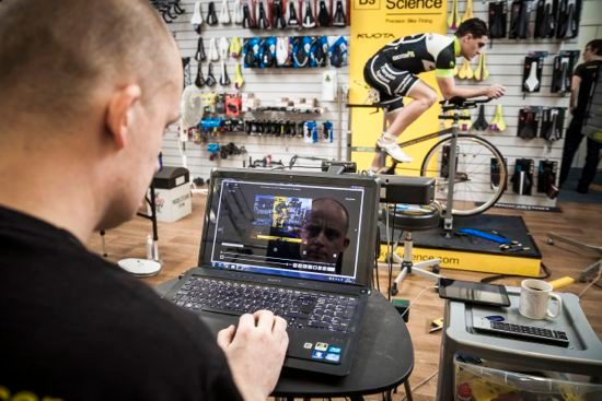Tri bike fitting