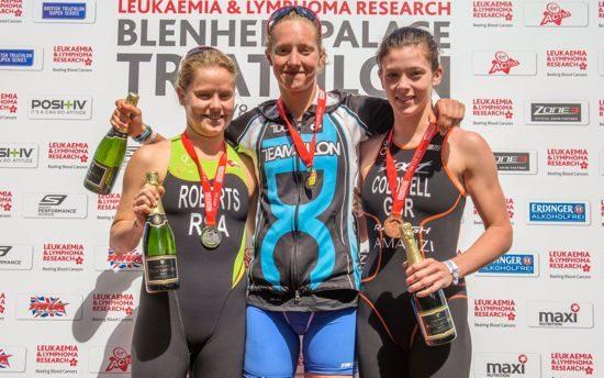 Emma Pallant wins this year's Blenheim Palace Triathlon