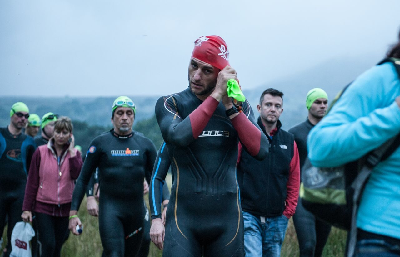 Athletes preparing to race the Brutal 2014