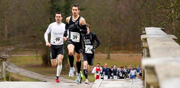 Duathletes racing at Clumber Park