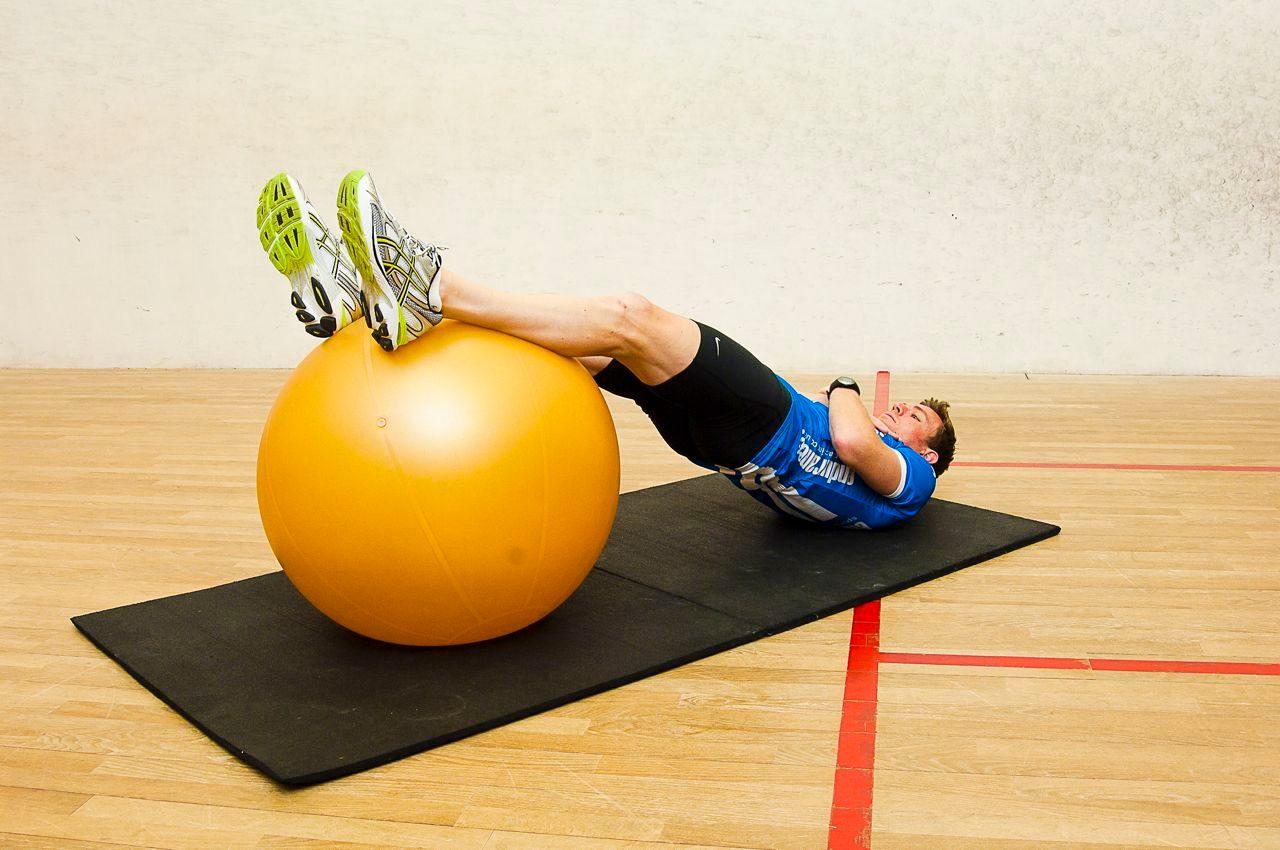 Core control exercises