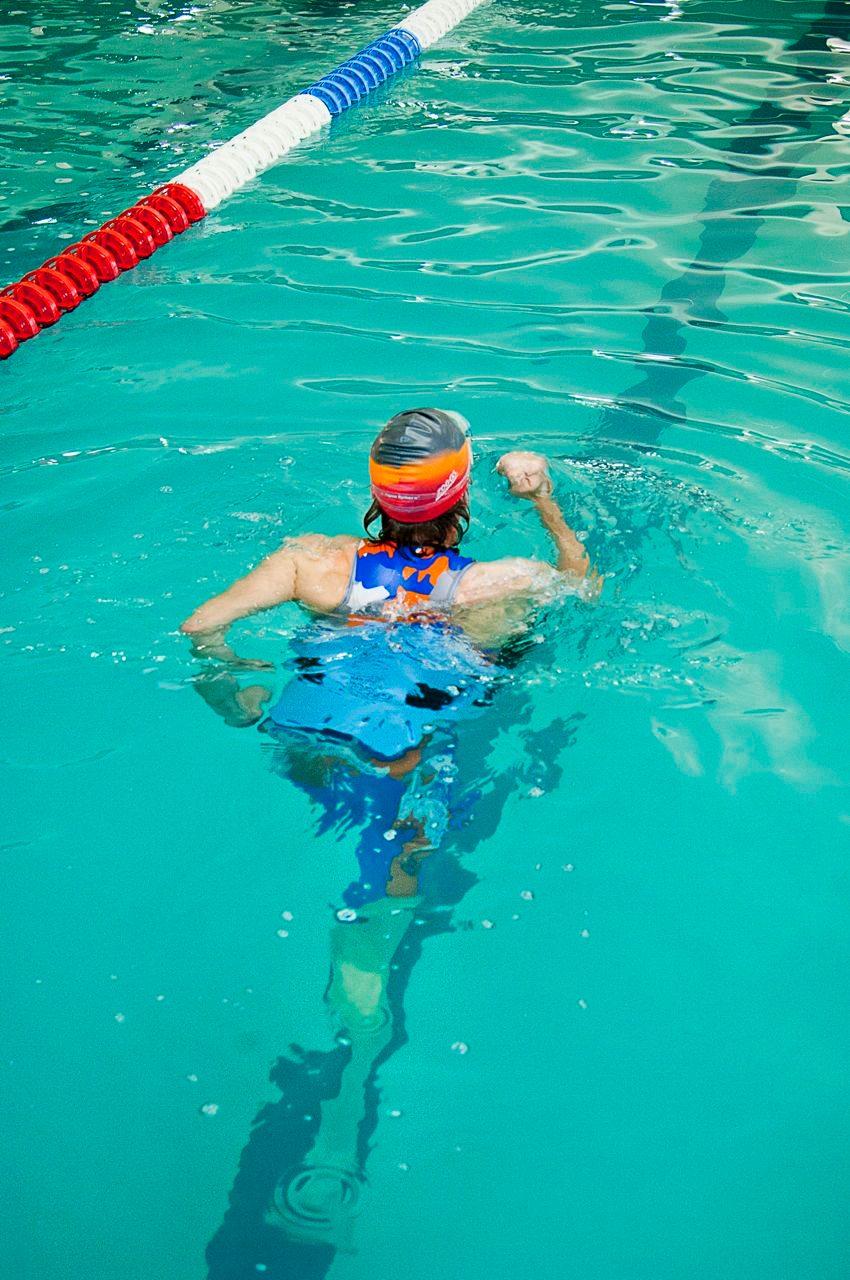 Swimmer doing Deep Water Running