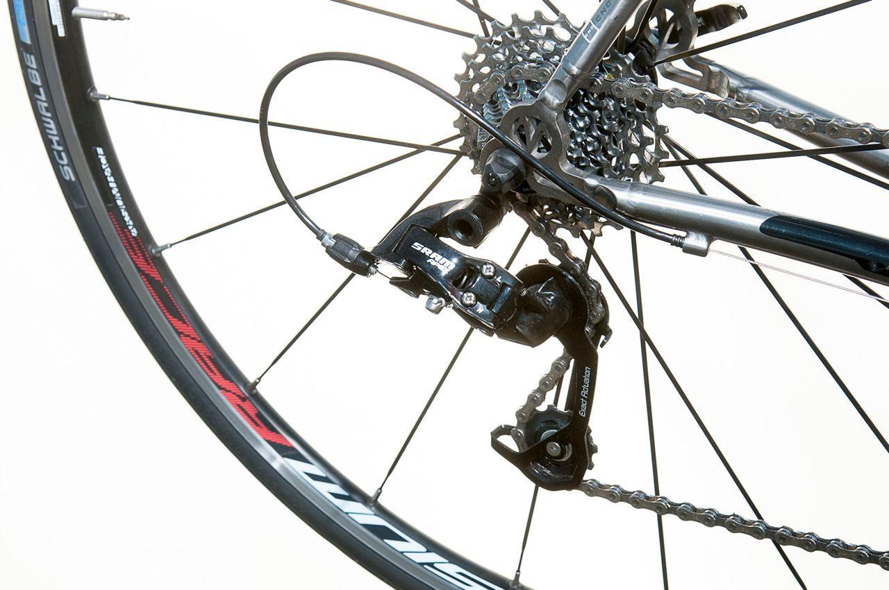 SRAM Apex groupset on Van Nicholas road bike