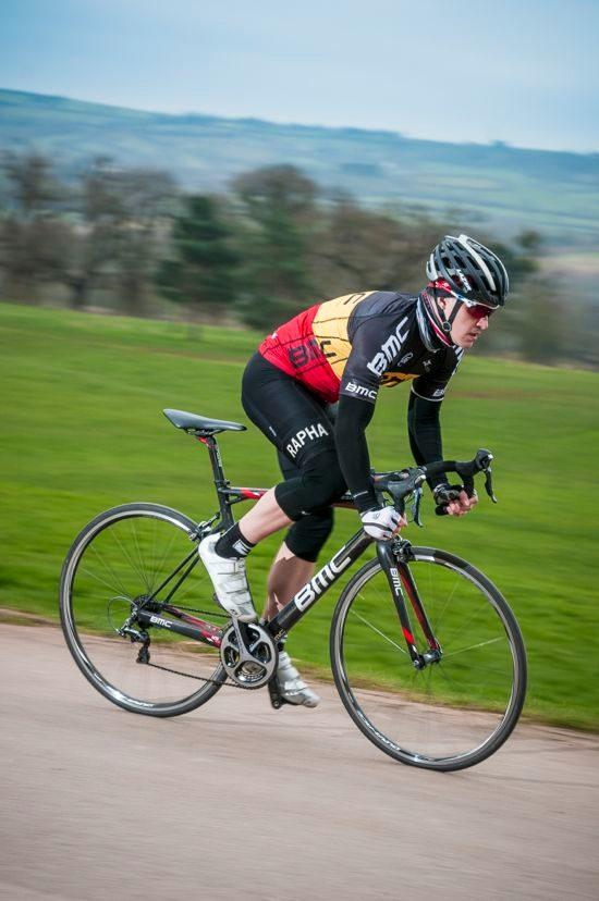 Rider on BMC Team Machine SLR01
