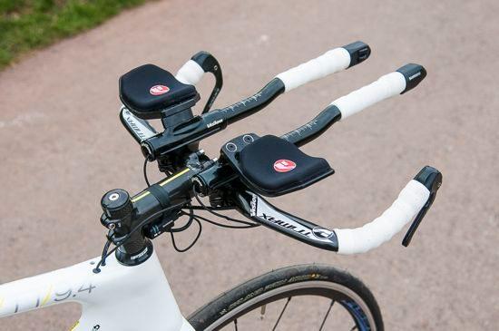 Tri bike cockpit