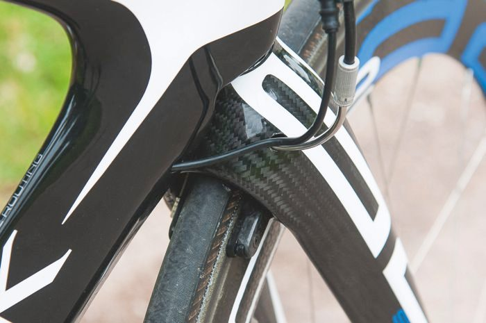 Storck Aero2 IS - the brakes