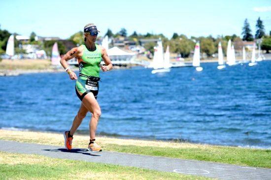 Meredith Kessler on the run