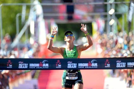 Meredith Kessler wins Ironman New Zealand