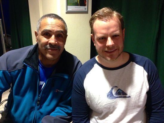 Daley Thompson and David Pawsey