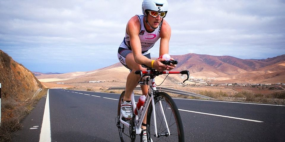 Dan Halksworth on the bike