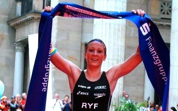 Daniela Ryf wins in Frankfurt