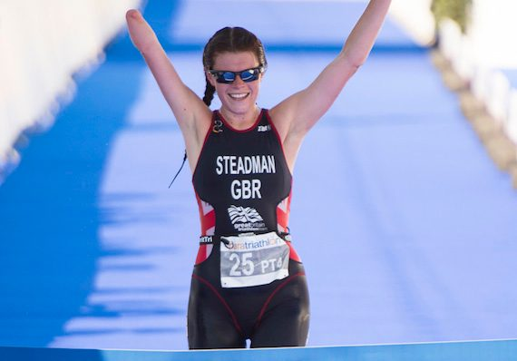 Lauren Steadman wins ETU European Champs in Geneva