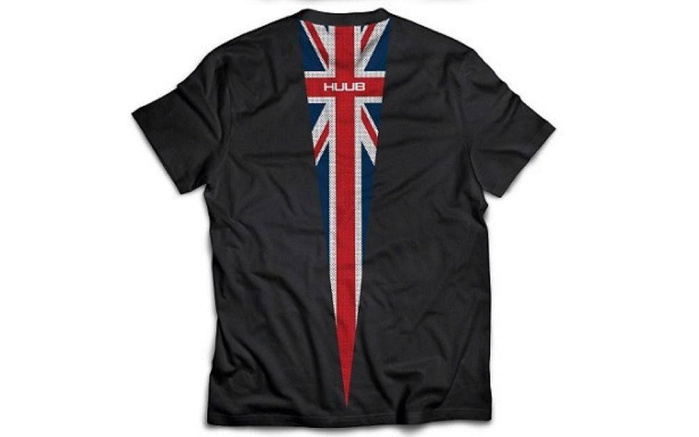 Rear of Huub Nations t-shirt