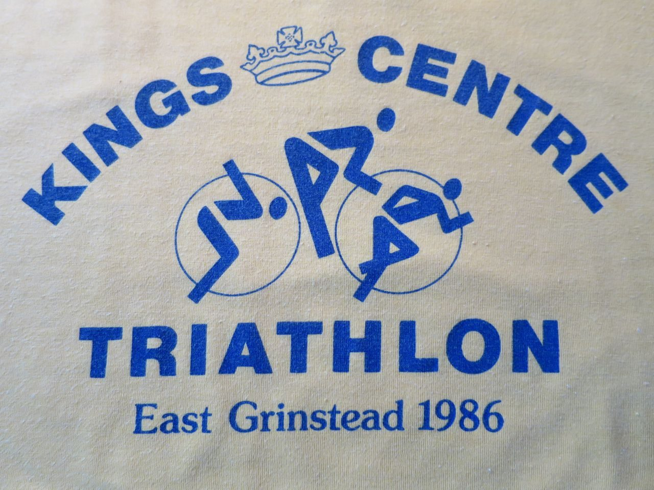 East Grinsted Triathlon t-shirt