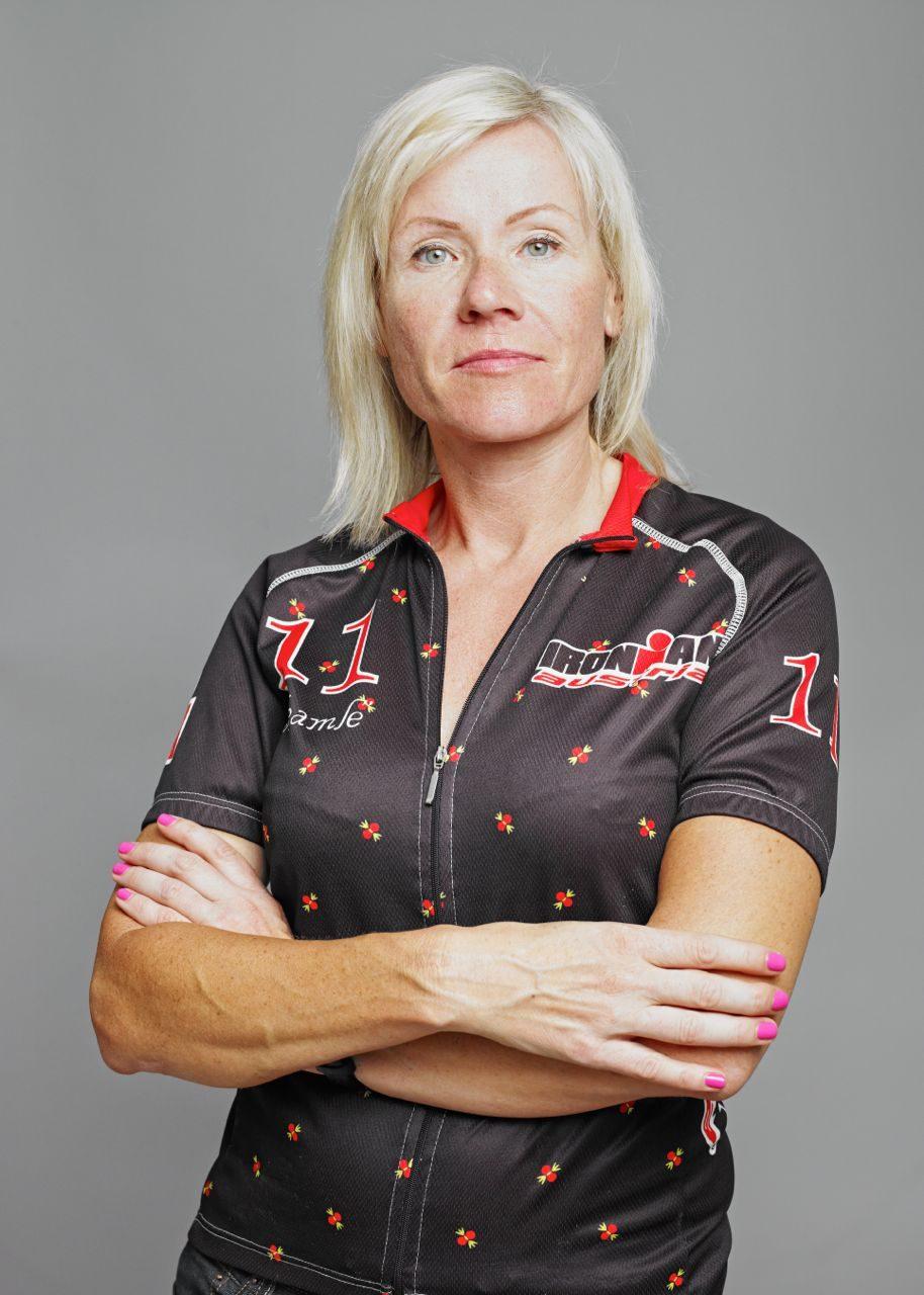 Ania, one Ironman finish