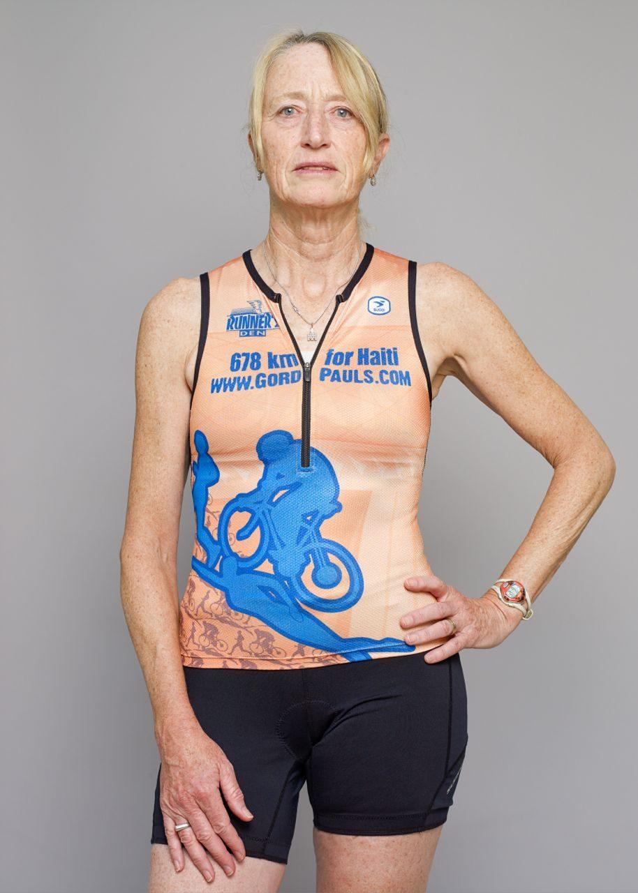 Mary, 10 Ironman finishes