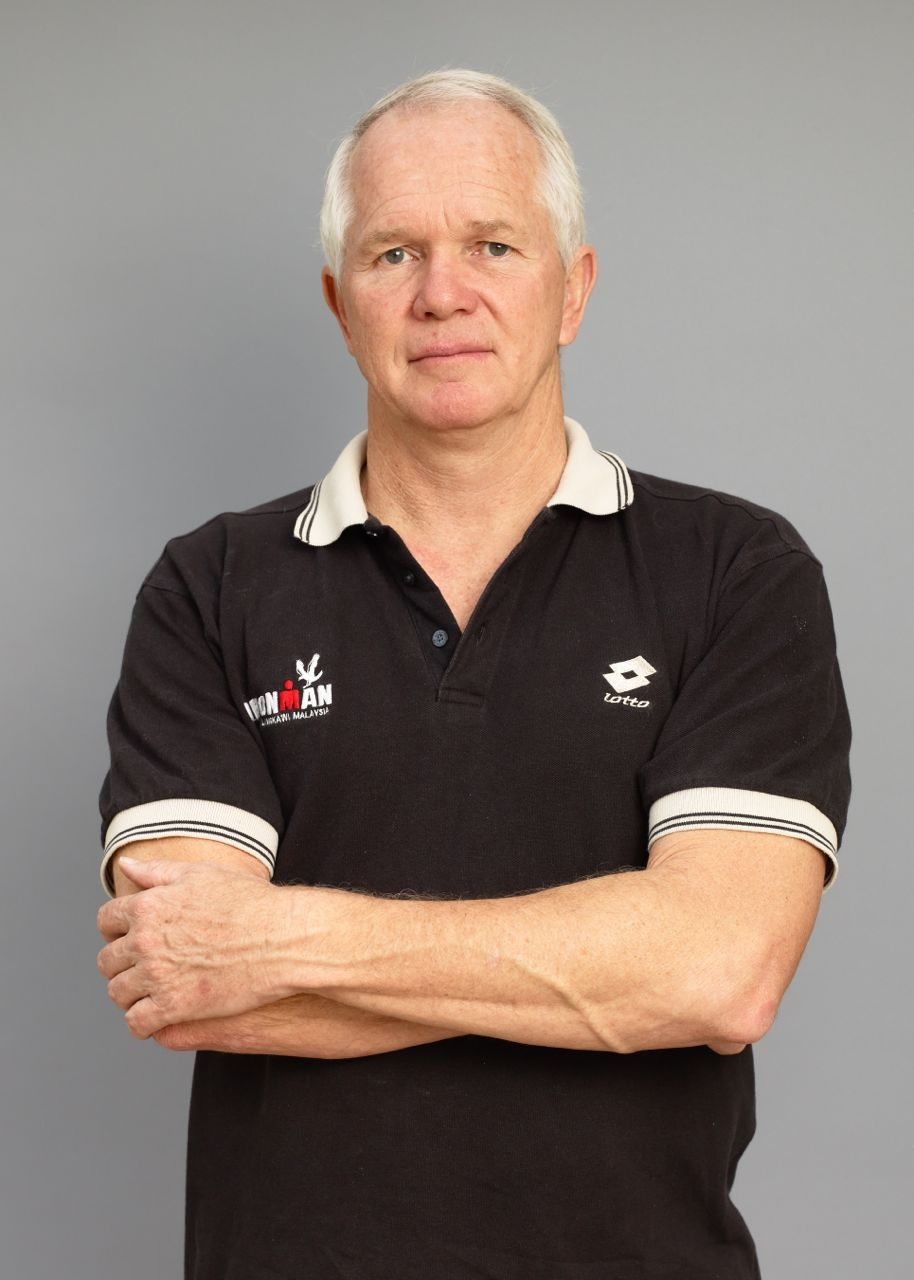 Peter, 76 Ironman finishes