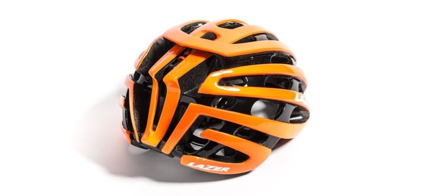 Lazer Z1 bike helmet from rear