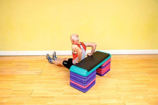 Gym workouts – tri-dip