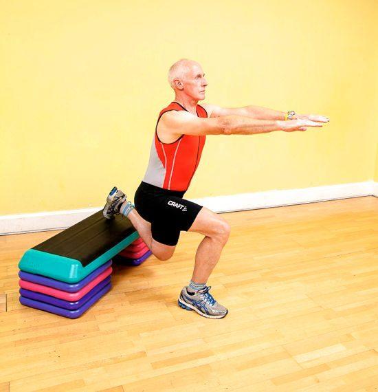 Gym workouts – single-leg squat