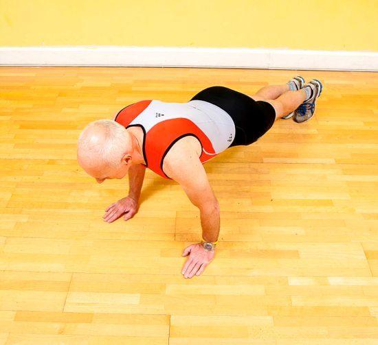 Gym workouts – press-up