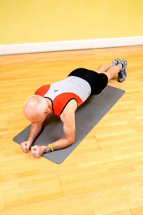 Gym workouts – front plank
