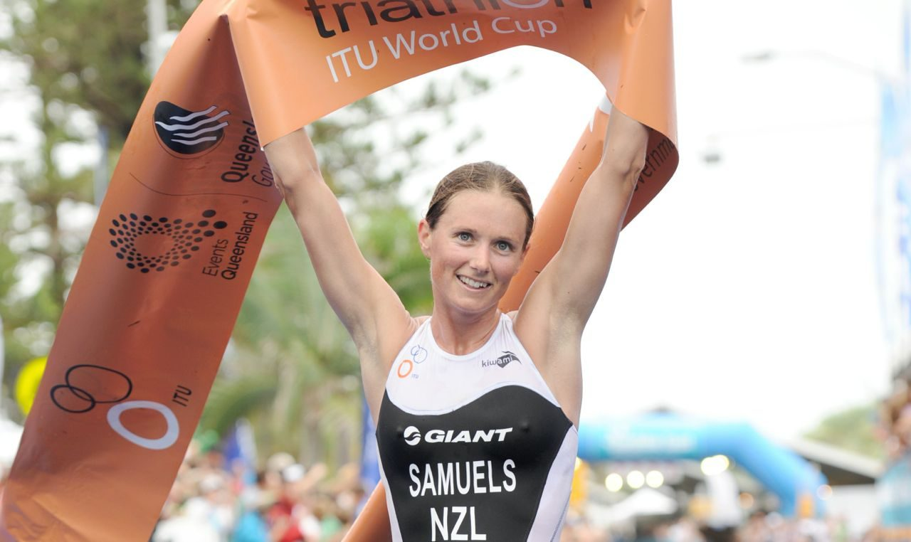Nicky Samuels post-race