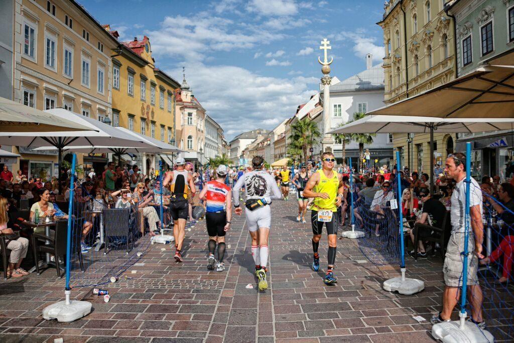 On the run at Ironman Austria