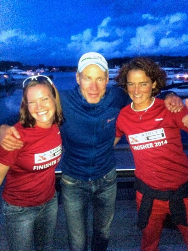 Naomi and Patricia with race director Tom Remman