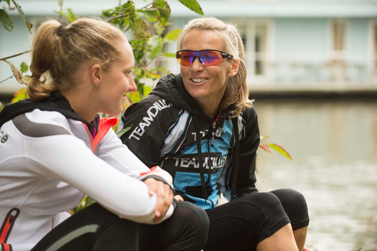 Michelle Dillon and Emma Pallant