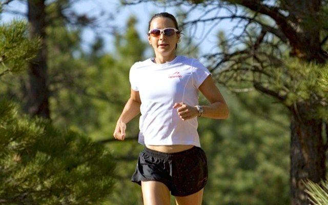 Rachel Joyce in run training