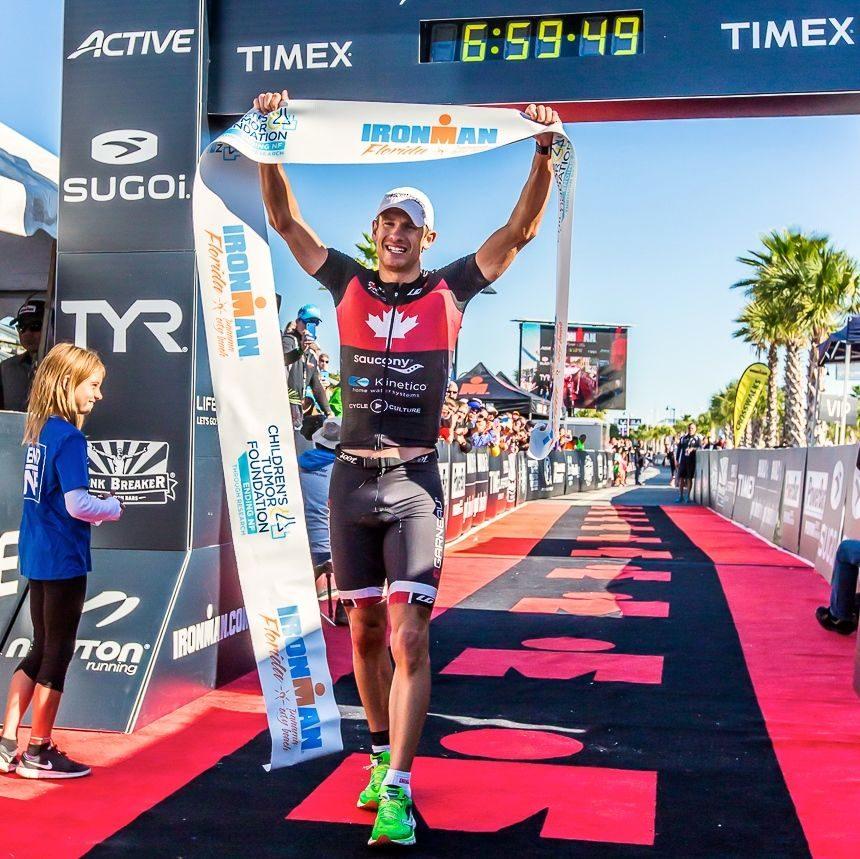 Lionel Sanders wins Ironman Florida 2014