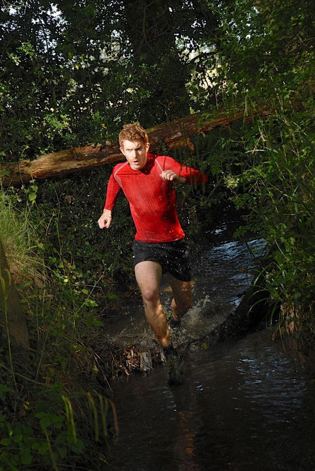 Sean Conway running