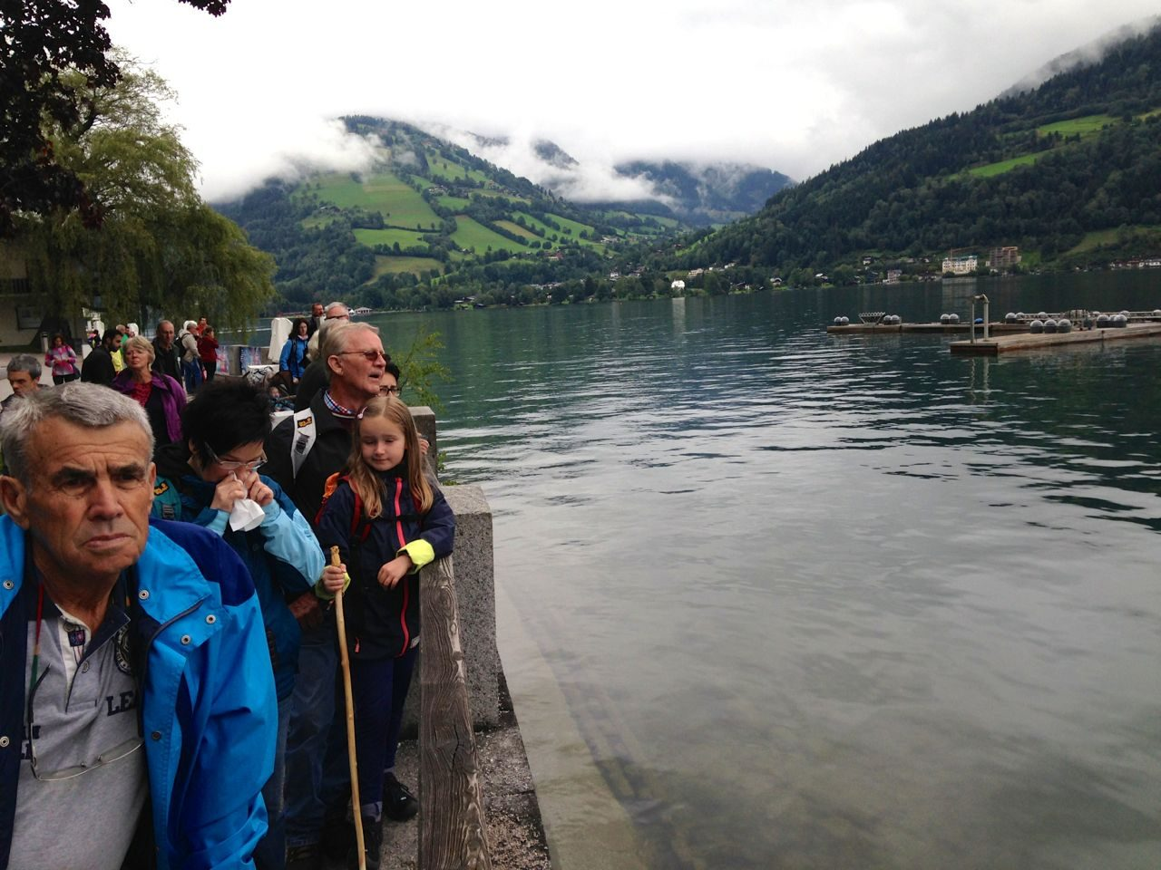 Spectators at Ironman 70.3 Zell am See