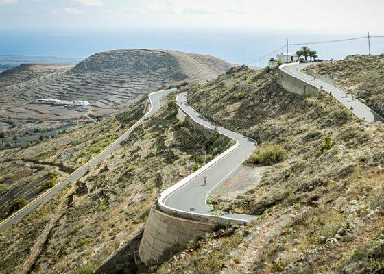 Lanzarote's infamous Tabayasco climb