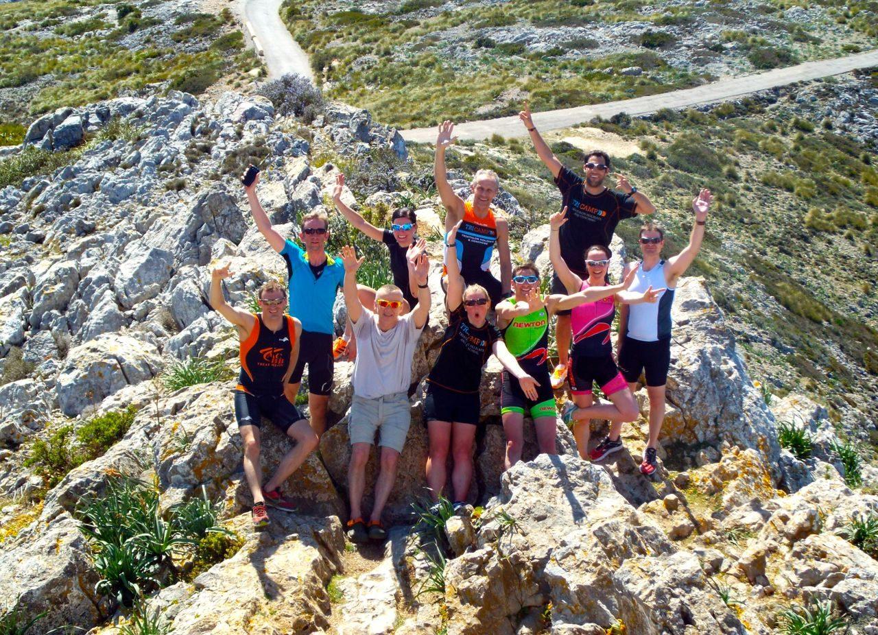 Tri-Camp in Mallorca