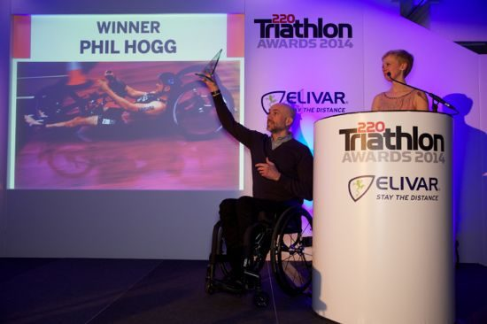 Phil Hogg at the 220 awards