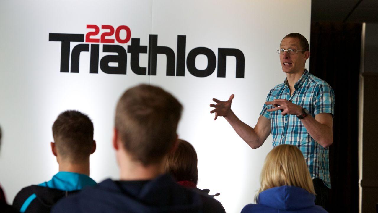 Seminar speaker at 220 Triathlon Show