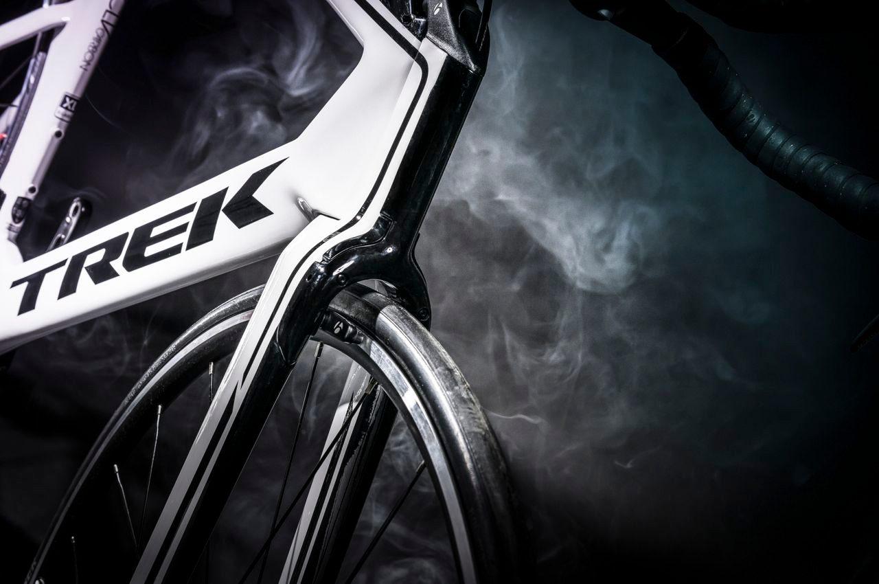 Front brakes on a triathlon bike
