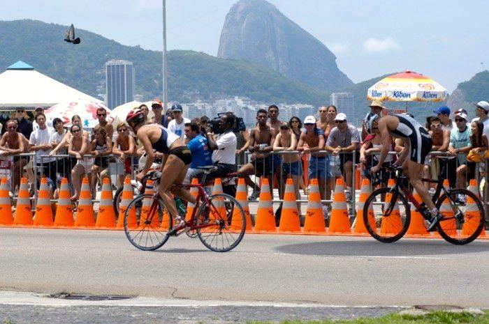 Triathlon in Rio de Janeiro