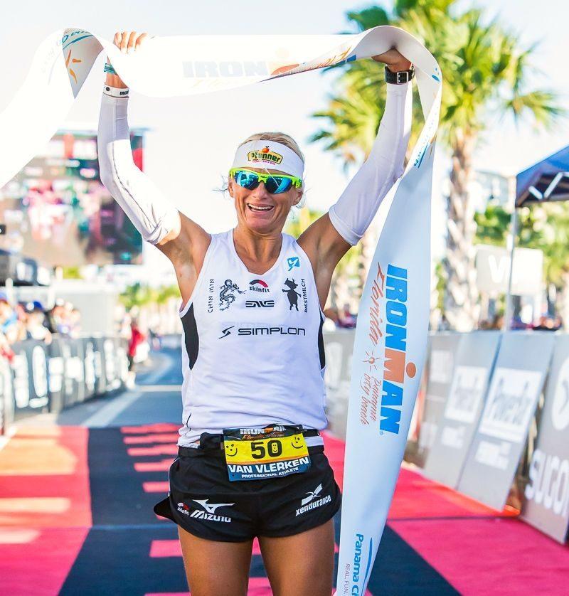 Yvonne Van Vlerken wins Ironman Florida 2014