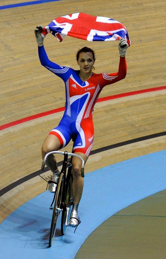 Victoria Pendleton race