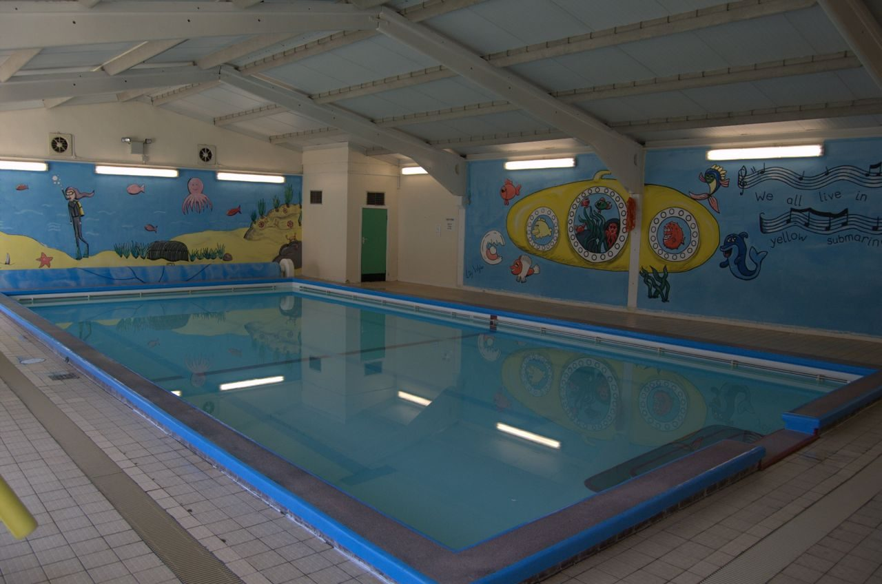 Indoor pool at Warren Road Primary School