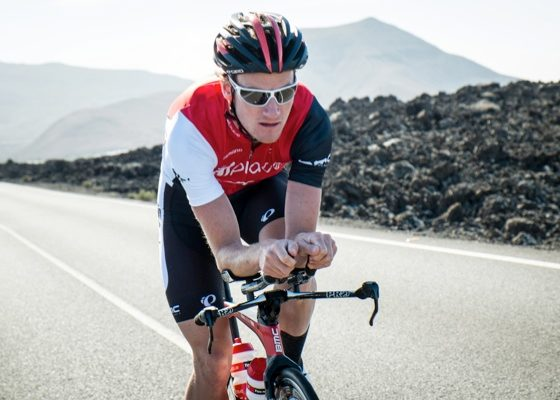 Will Clarke is hoping to take his second 70.3 in Lanza