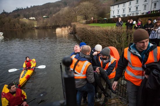 Davina dragged from Lake Windermere
